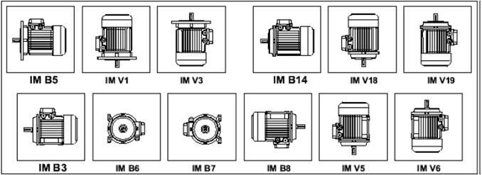 Варианты конструкции электродвигателей и их модификации